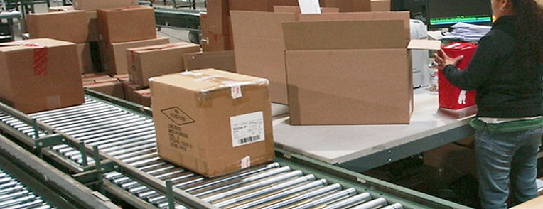 internet order fulfillment and packing