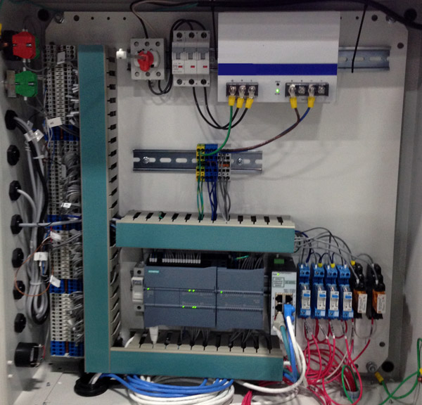 PLC Electrical Controls Cabinet